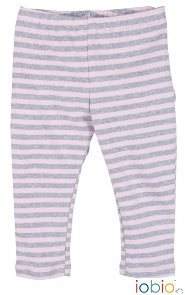 leggings righe rosa