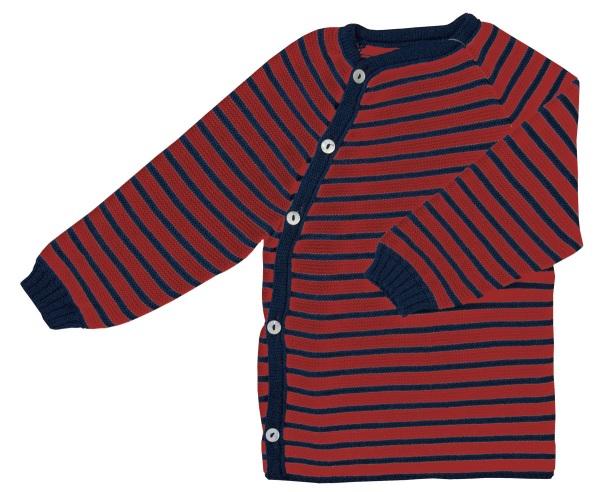 maglia lana righe blu_rosse