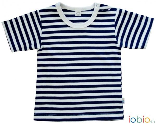 maglietta righe blu