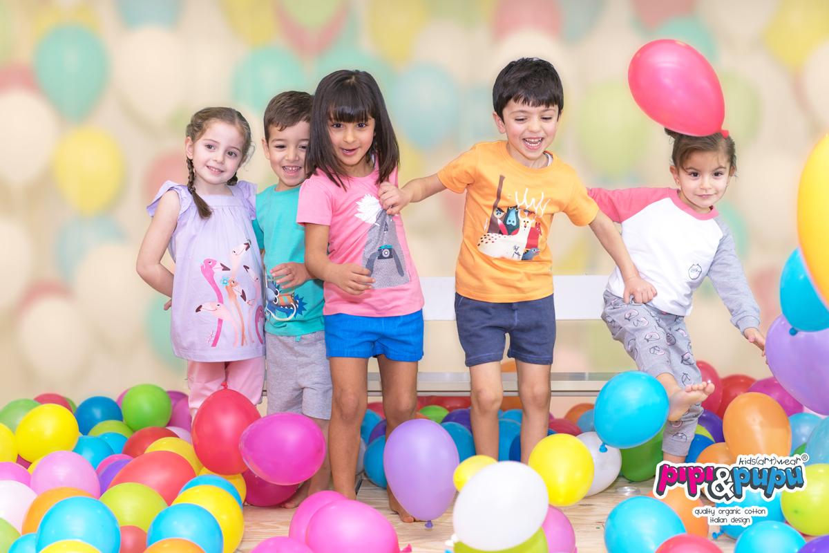 Creatività italiana per il cotone biologico per bambini di Pipi&Pupu