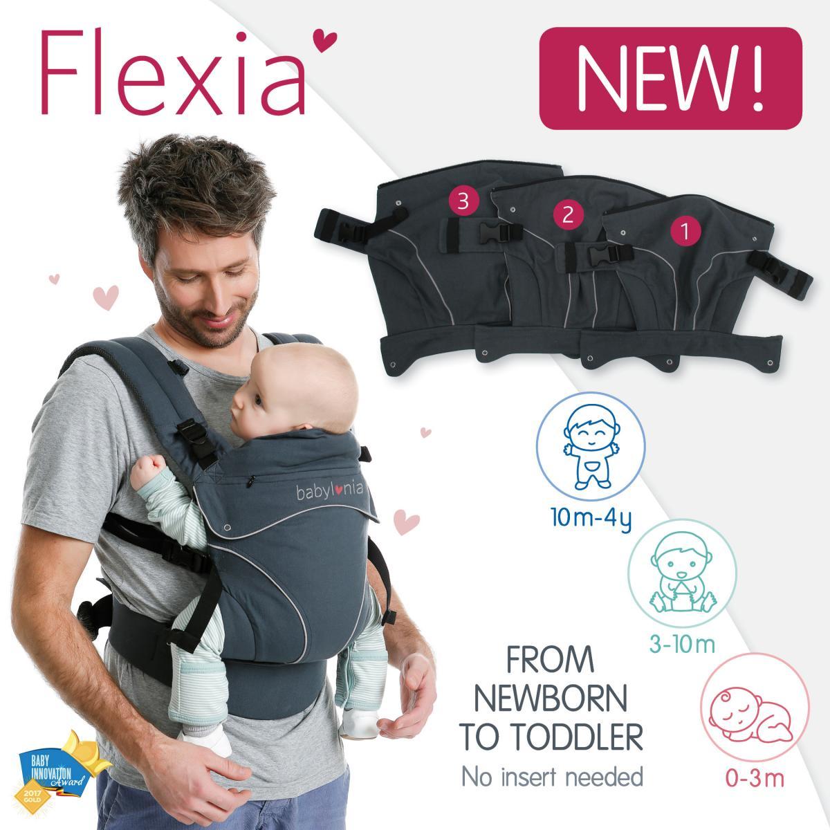 Nuovo marsupio ergonomico Flexia