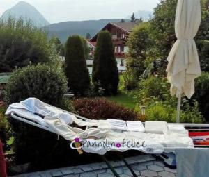 Pannolini lavabili in vacanza: attenzione al lavaggio