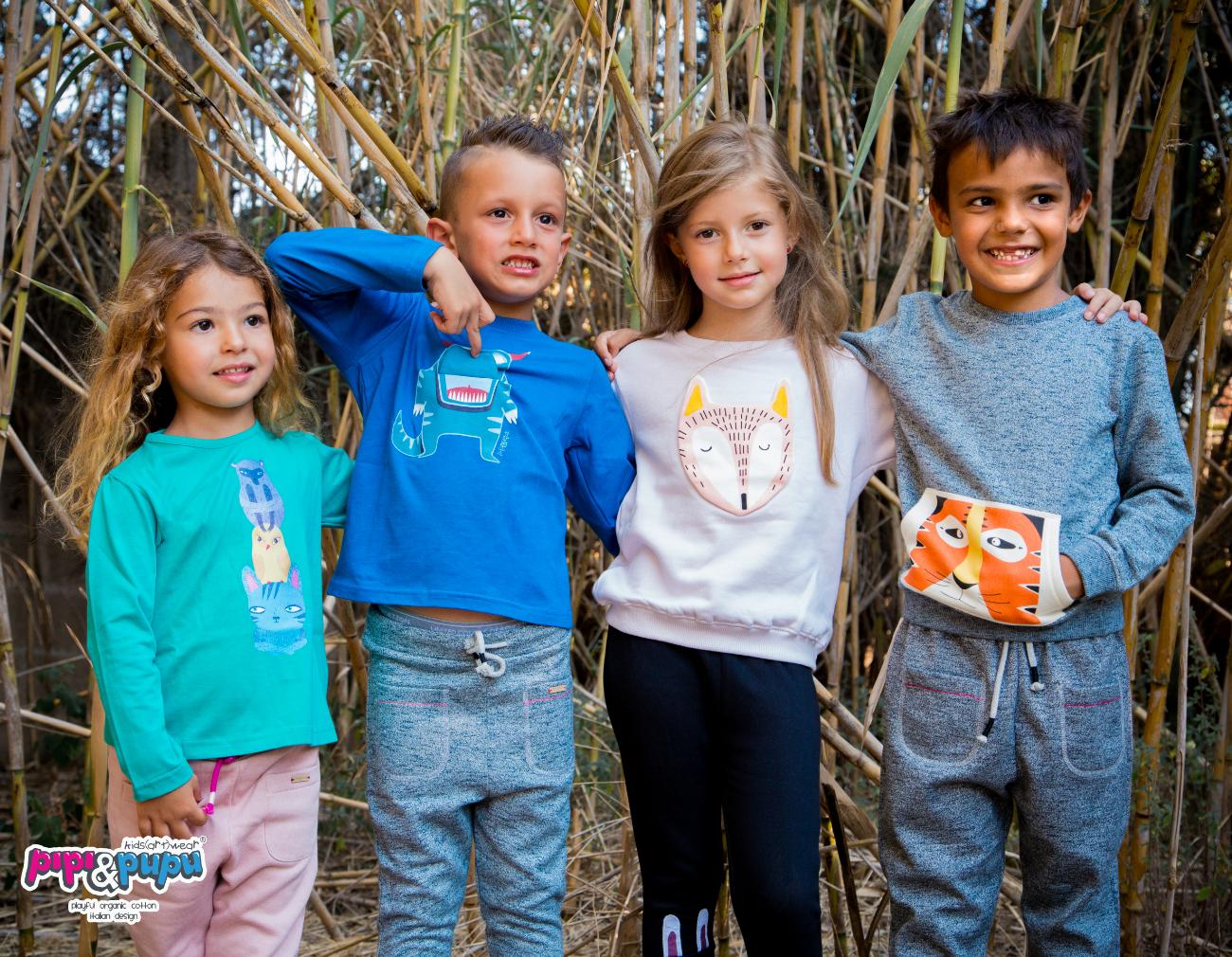 abbigliamento biologico bambini