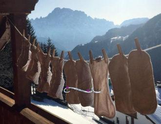 pannolini lavabili stesi neve