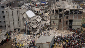 Rana Plaza Bangladesh crollo