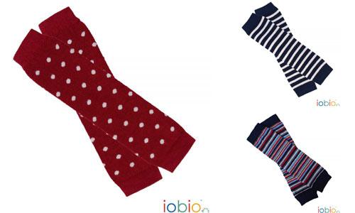 leg warmers baby cotone bio Iobio