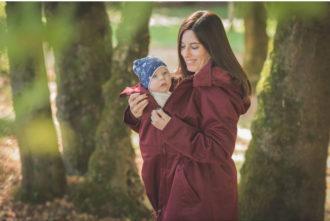 Giacca babywearing e premaman WearMe (VIDEO)