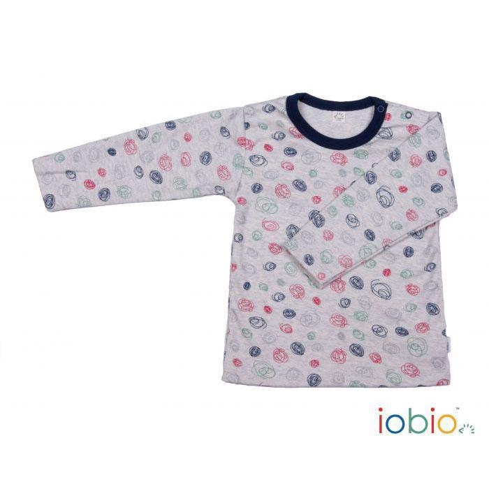 Maglietta Bio · Grigia Con Cotone Scarabocchi Pannolinofelice TlJKcF1