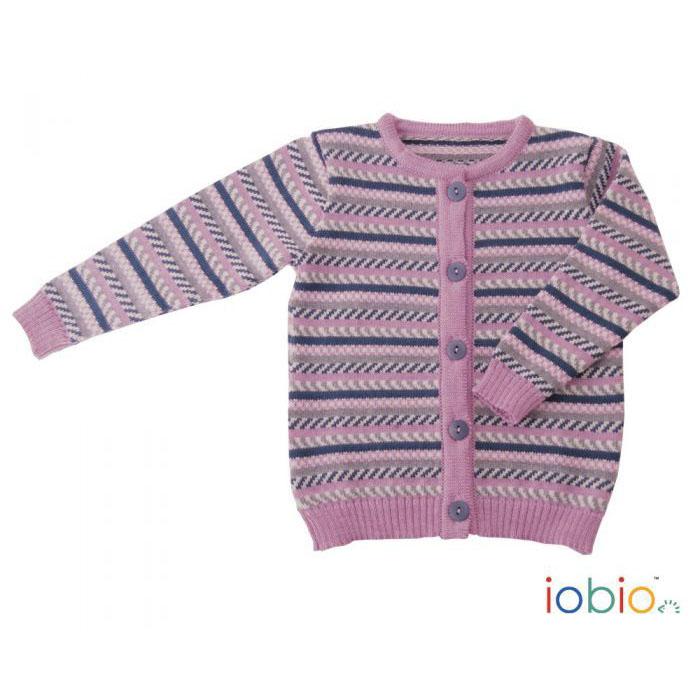 sito affidabile 024d8 e9146 Golfino bimba in lana merino a righe