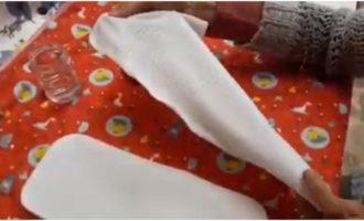 Effetto asciutto per i pannolini lavabili: scopri il tessuto Stay Dry (Video)
