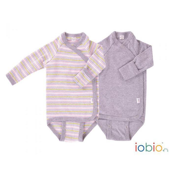 economico in vendita 2019 reale nuovo elenco Body neonato manica lunga cotone bio - 2pz