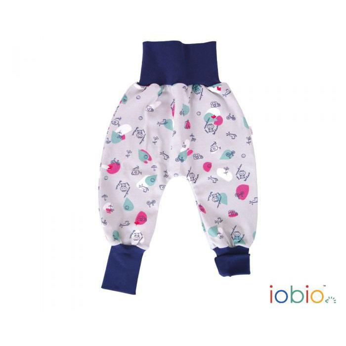 buy popular 144aa 56442 Cotone Basso Bio Bambino Ranocchie Pantaloni Cavallo wOk0X8nP