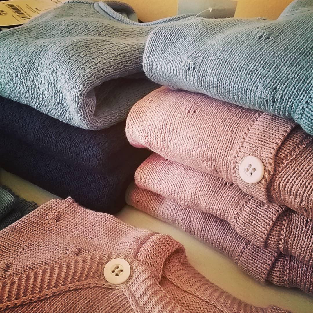 Nuova collezione cotone lavorato
