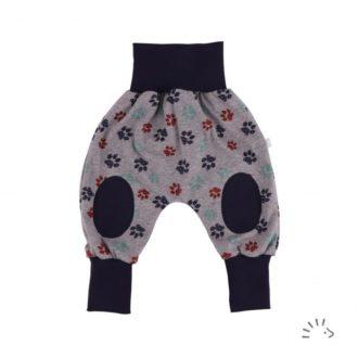 Pantaloni cavallo basso bambino cotone bio zampe