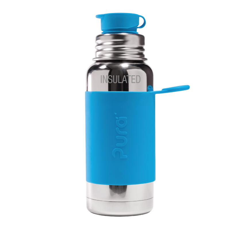 0,5 l thermos isolante per bevande Mat Saphir Blue Acciaio INOX Borraccia termica ThermoCaf/é