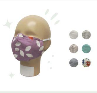 Mascherine lavabili per bambini e adulti in cotone bio