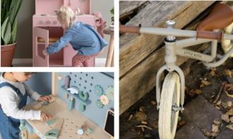 Preordine grandi giochi in legno e bici senza pedali